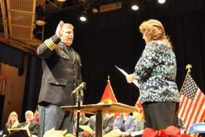 Sheriff Cameron Sworn In to Fourth Straight Term