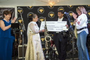 Ila and Vinod Shah Present CSM with $100,000