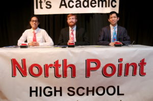 North Point It's Academic team wins regional competition