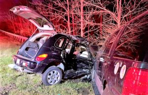 Serious Motor Vehicle Accident in Lusby Sends Four People to Hospital