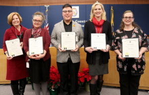 Charles County public School Board Honors Exemplary Staff for Commitment to Children