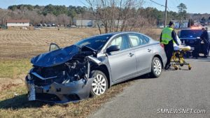 Two Injured After Motor Vehicle Accident in Great Mills