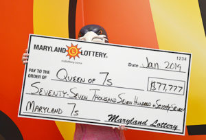 Holiday Gift Exchange Makes Leonardtown Lady $77,777 Richer