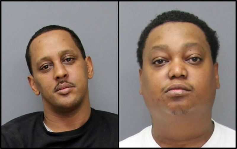 Garry Phillip Queen Jr, 41 of Waldorf, and Timothy Ross Thomas, 34 of Colonial Beach