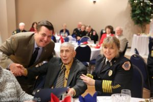 50 Year Service Award for Chief Dave Summers of Ironsides Volunteer Rescue Squad