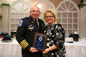 2018 Squad Member of the Year Awarded to County Volunteer EMS Chief Guy Yesse