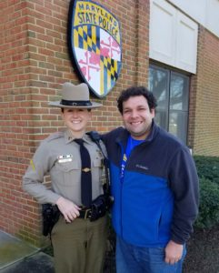Maryland State Police Leonardtown Barrack Proud to Host Champions On Patrol