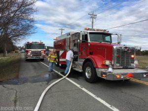 Ridge House Fire Under Investigation