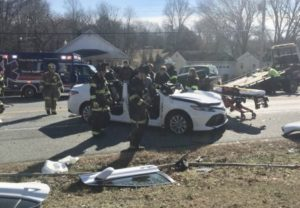 Two Flown to Trauma Center After Serious Crash in Prince Frederick