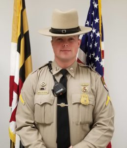 MSP Leonardtown Barrack's Trooper of the Month for December 2018 is Trooper First Class Jason Mulhearn