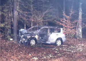 One Person Transported to Trauma Center After Striking Tree in Leonardtown
