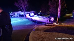 One Transported to Area Trauma Center After Single Vehicle Crash in Lexington Park
