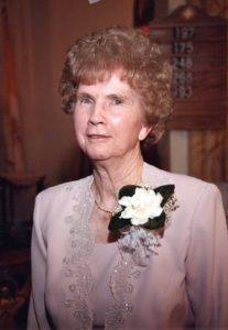 Mary Magdalene (Pilkerton) Mosher, 98