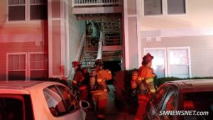 Two Park Villa Apartments Damaged After Early Morning Dryer Fire