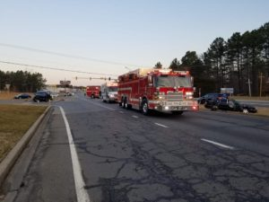One Flown to Area Trauma Center After Early Morning Motor Vehicle Accident in Mechanicsville