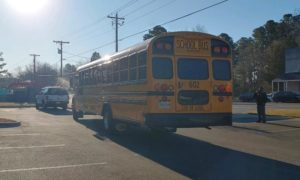 NO INJURIES REPORTED – Minor Motor Vehicle Accident Involving a School Bus in Great Mills