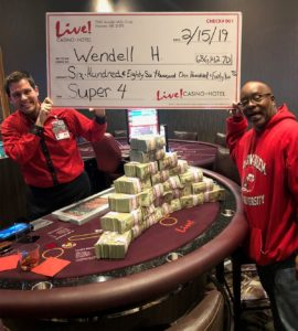 Bowie Man Turns $5 Into $686,000 at Live! Casino & Hotel