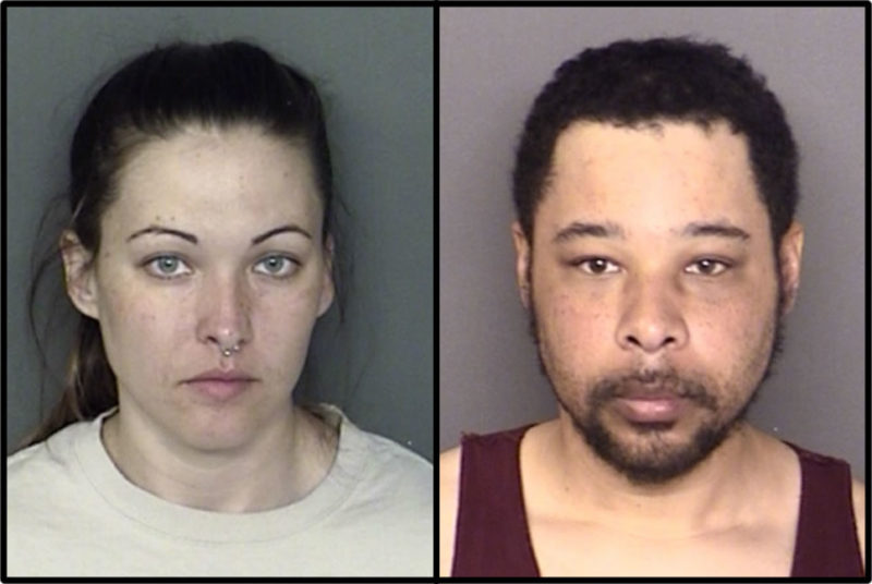 Samantha Ann Somerville, 30, and Wayne Darnell Somerville Jr., 31 both with no fixed address