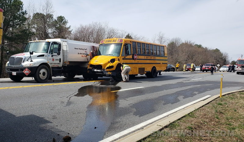 VIDEO: Motor Vehicle Accident Involving a School Bus and a