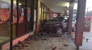 VIDEO: No Injuries Reported After Vehicle Crashes into Lexington Park Shopping Center