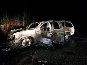 Vehicle Arson Under Investigation in Bryans Road
