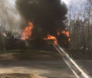 Dog Perishes in Fire that Destroys House in Mechanicsville