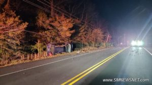 Single Vehicle Crash Reported on Willows Road in Park Hall