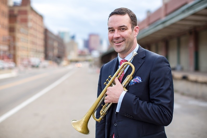 Award-winning Trumpeter Dr. James Moore will perform at CSM's 16th Annual Jazz Festival April 4-6, 2019.