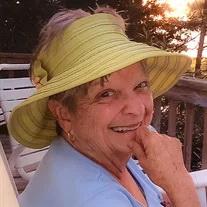 Nancy Harrell (née Evans), 77