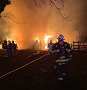 Barn Fire in Huntingtown That Killed Numerous Farm Animals Ruled Accidental