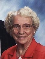"Frances Idalia Cusic,""Teenie, 90"