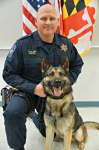 K9 Brock to be Memorialized in May