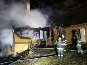 Charcoal Grill Blamed in Fire that Destroyed Home in Lusby