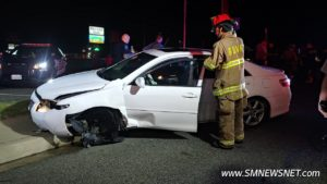VIDEO: No Injuries and One Arrested for Drunk Driving After Single Vehicle Crash in California
