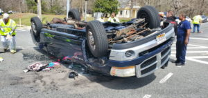 Emergency Personnel in St. Mary's County Respond to Second Rollover Accident in Less Than 3 Hours