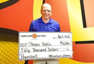 Retired Great Mills High School Teacher Chalks up $50,000 Powerball Win