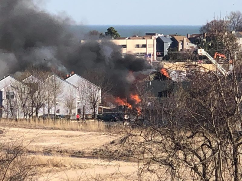 Firefighters Currently Fighting 2 Alarm Fire In Chesapeake