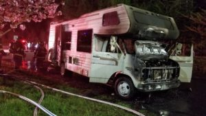 Firefighters Quickly Extinguish RV Fire in Mechanicsville