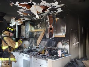 Firefighters Respond to Kitchen Fire in Chaptico