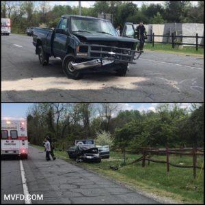 One Flown to Trauma Center After Crash in Mechanicsville