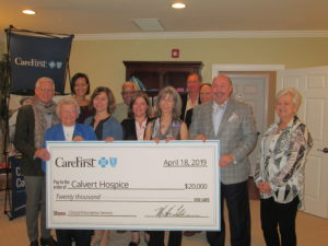 Calvert Hospice Receives $20,000 Grant from CareFirst