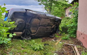 Rollover Crash in Leonardtown Results in Minor Injuries