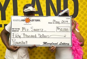 Lexington Park Couple Win $50,000 in May 25th Powerball Drawing