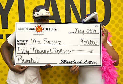 Lexington Park Couple Win $50,000 in May 25th Powerball