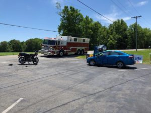Motorcycle and Bicyclist Flown to Trauma Centers in 2 Separate Accidents in St. Mary's County