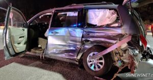 Motor Vehicle Crash in California Injuries Two People and Sends One to Trauma Center