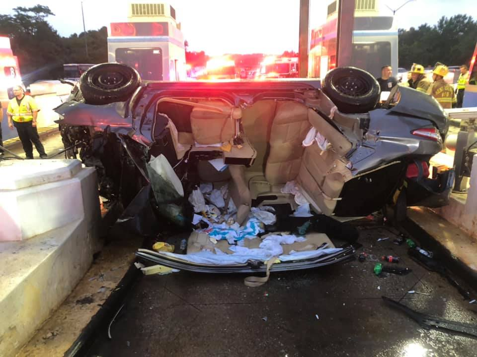 Three Injured After Vehicle Strikes Bay Bridge Toll Booth | Southern