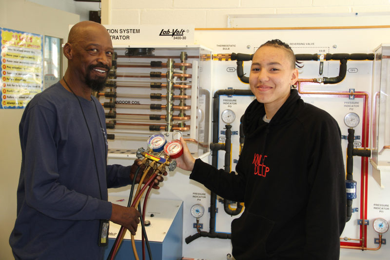 Students Find Success Through Stethem HVAC Program