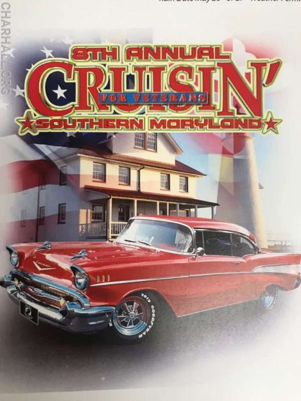 8th Annual Cruisin' Southern Maryland for Veterans Car Show is Open for Registration