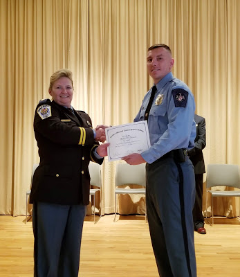 St. Mary's County Congratulates New Corrections Officer